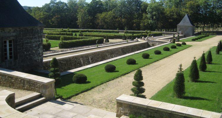 jardin du chateau du coscro - morbihan
