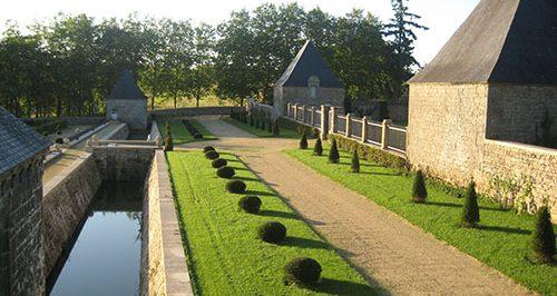 jardins et chateau du coscro - bretagne